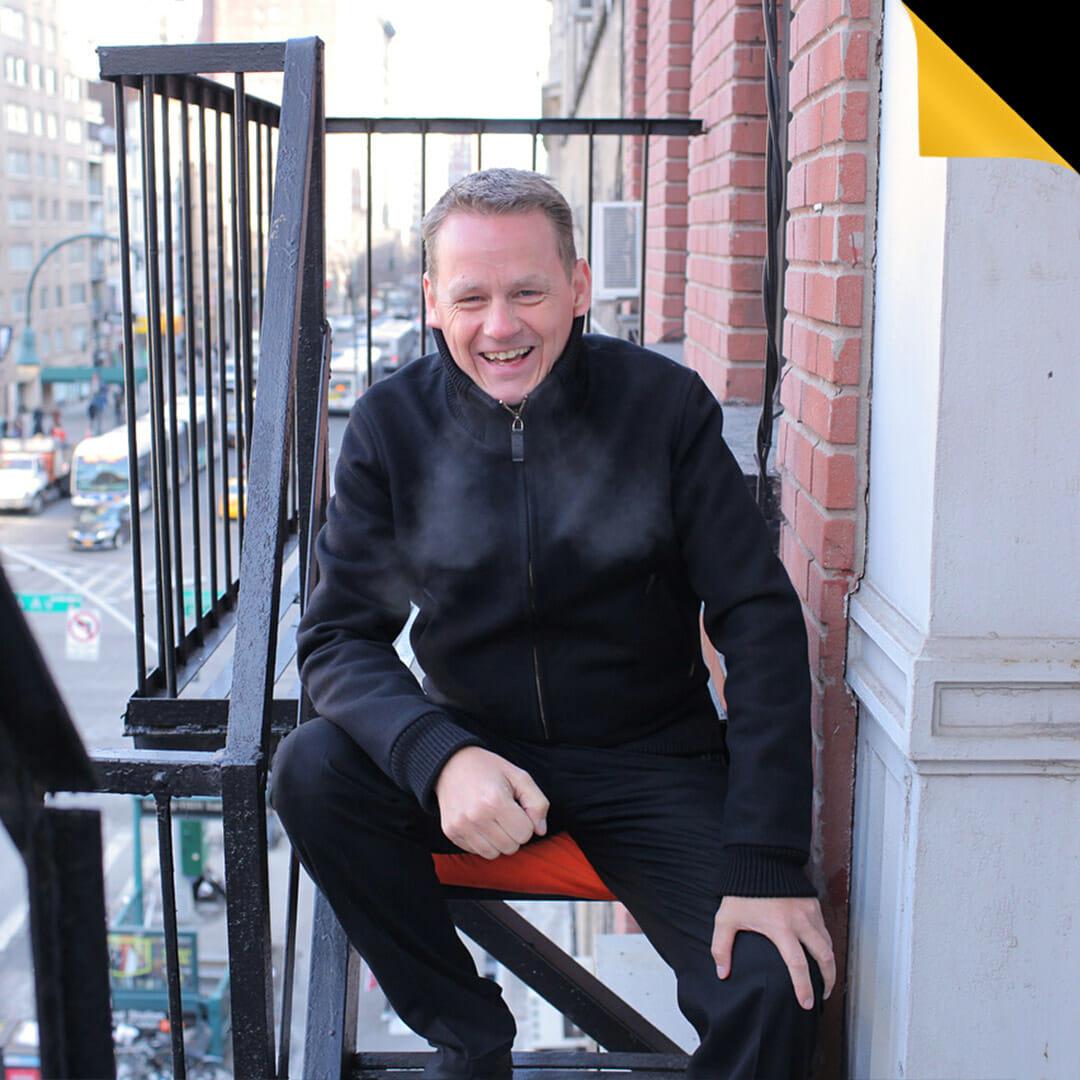 Martin Lindstrom in street - Press Kit for social media