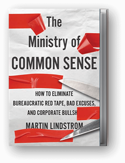 The Ministry of common sense - Martin Lindstrom Book
