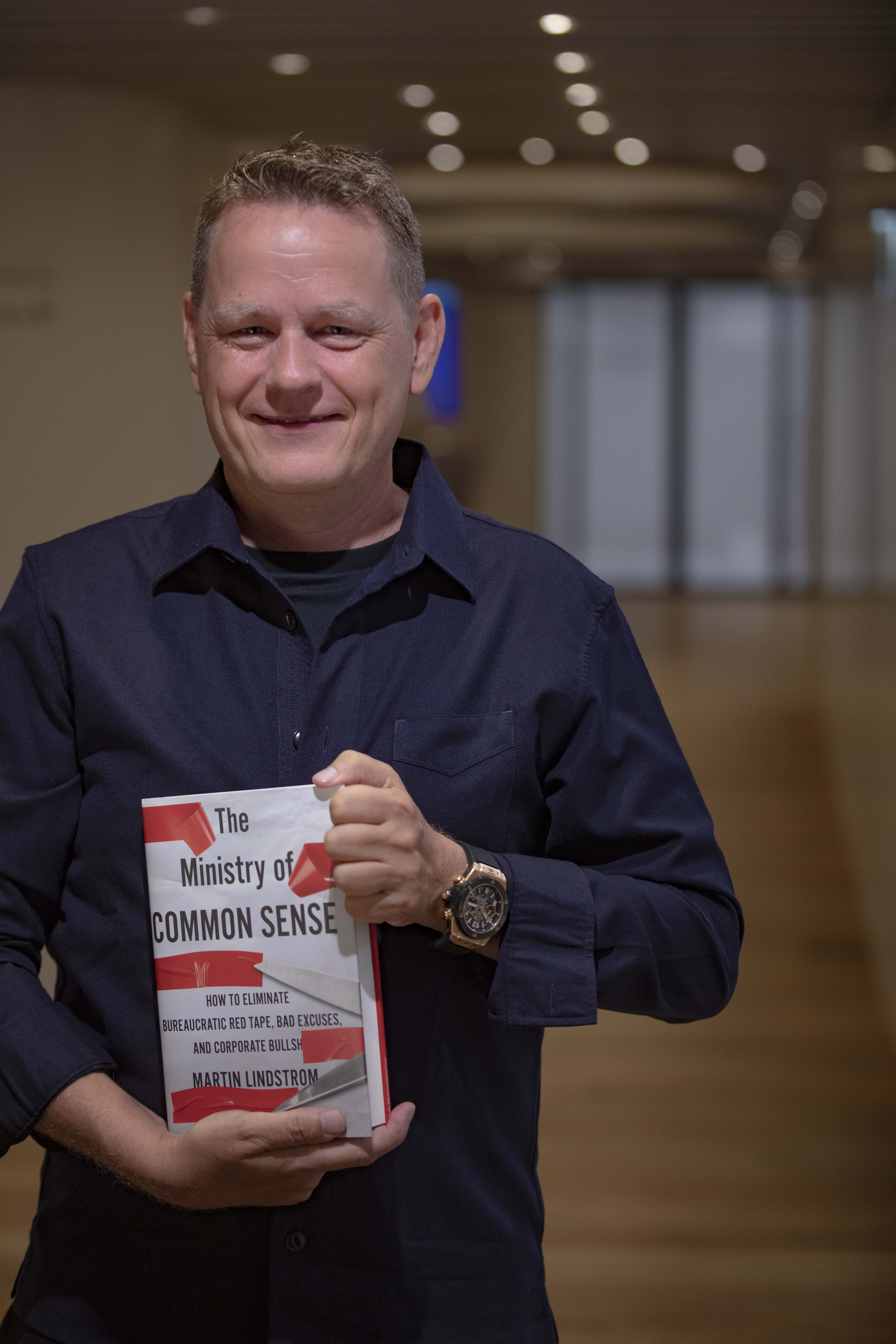 Martin Holding Ministry of Common Sense Book